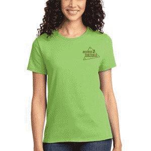 Pistachio Green Women's T-shirt